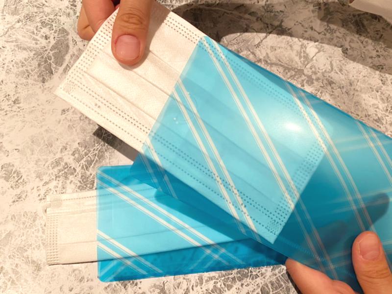 抗菌マスクケースのお求めは、エッサム神田ホール館内またはFaxで対応中