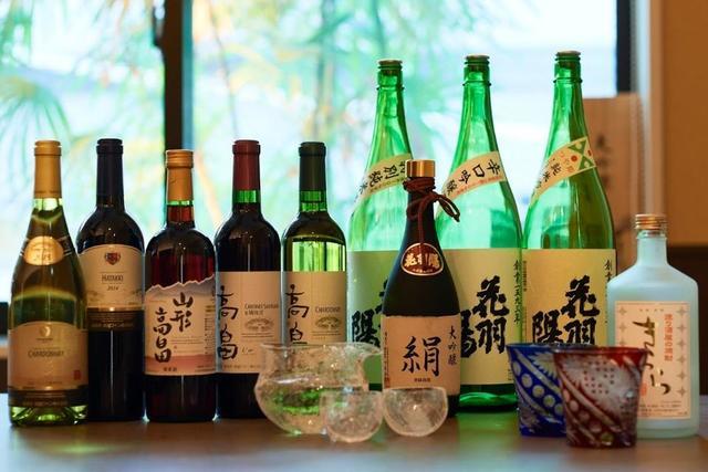 ご当地日本酒・ワインの飲み放題